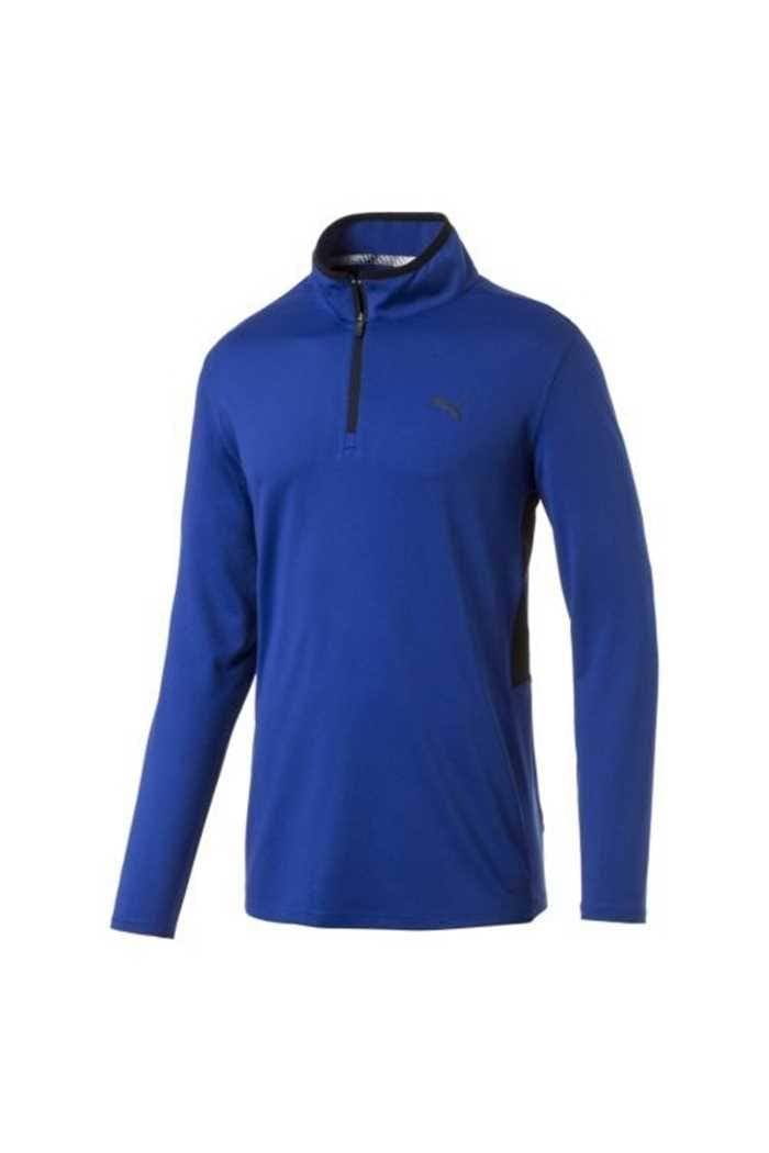 Picture of Puma Golf Men's Rotation 1/4 Zip - Surf the Web