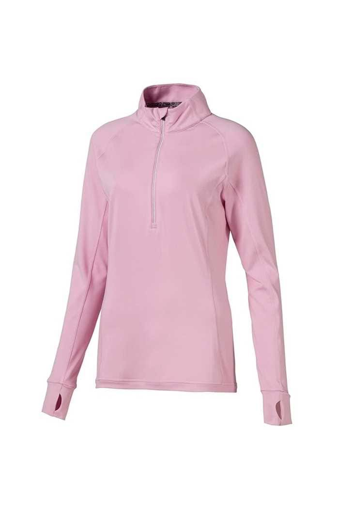Picture of Puma Golf Women's Rotation 1/4 Zip - Pale Pink