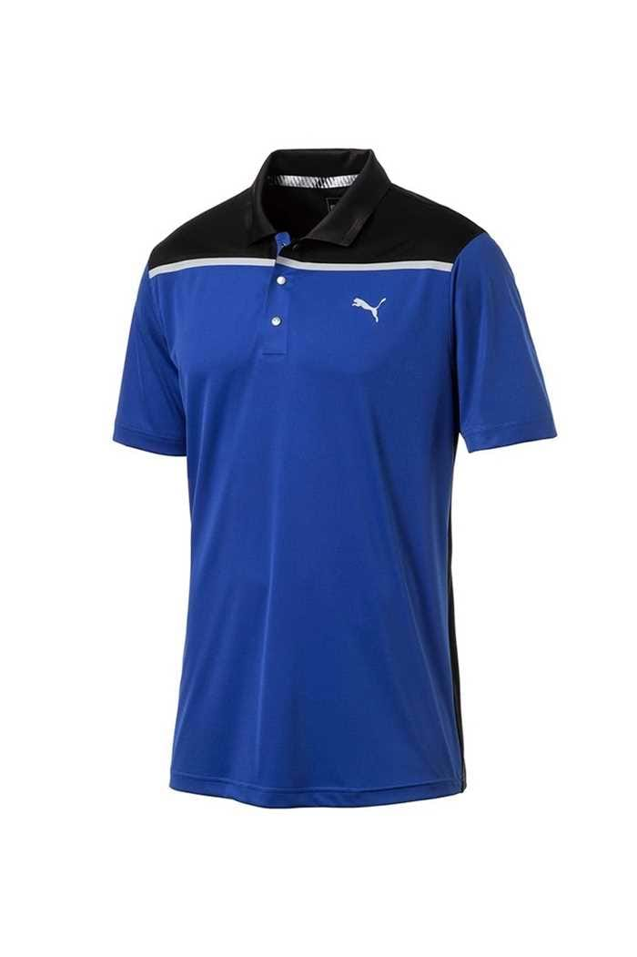 Picture of Puma Golf Men's Bonded Colourblock Polo Shirt - Surf the Web