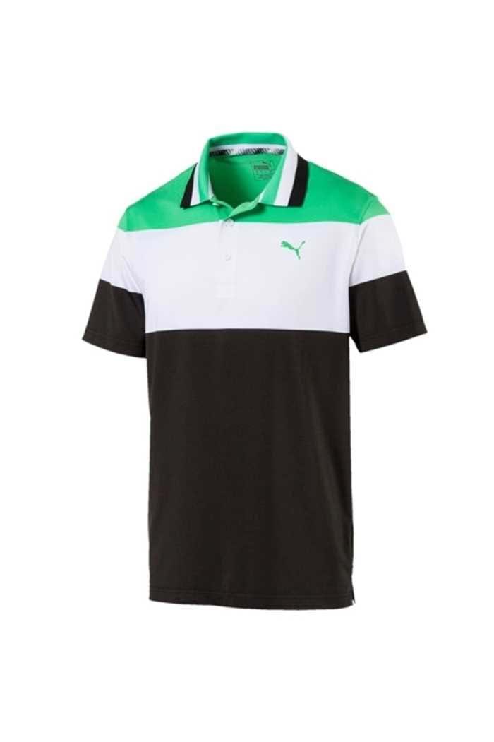 Picture of Puma ZNS Golf Men's Nineties Polo Shirt - Irish Green