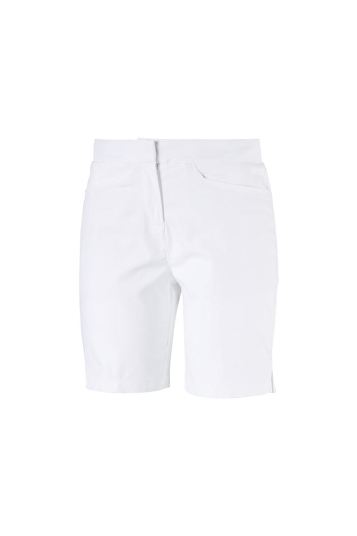 934274839eb0 Puma Golf Women s Pounce Bermuda Golf Shorts - Bright White - Puma ...