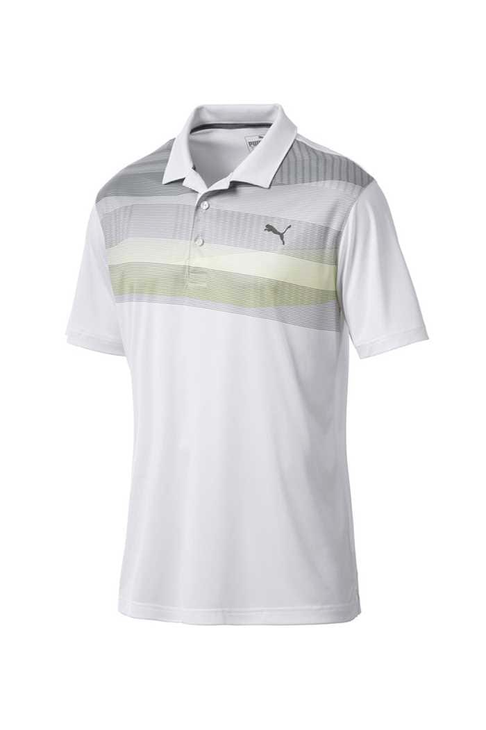 Picture of Puma Golf PWRCOOL Refraction Polo - Laurel Wreath