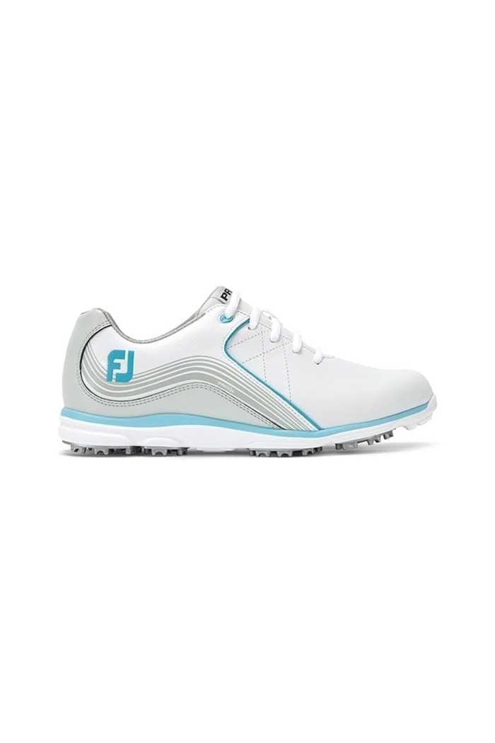 Picture of Footjoy ZNS Women's Pro SL Golf Shoes - White / Silver / Blue