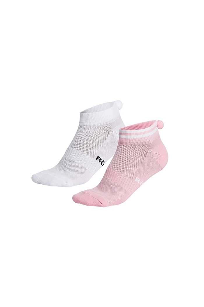 Picture of Rohnisch zns  Pompom Socks - 2 pack - Light Pink
