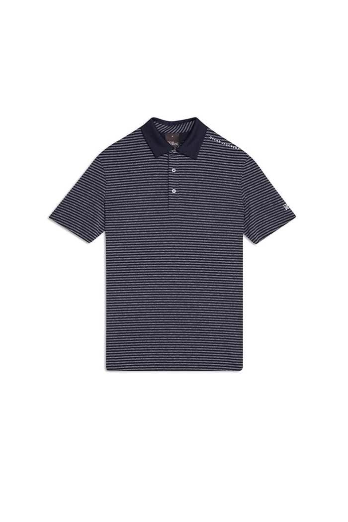 Picture of Oscar Jacobson XNS Chester Course Polo Shirt - Navy 216