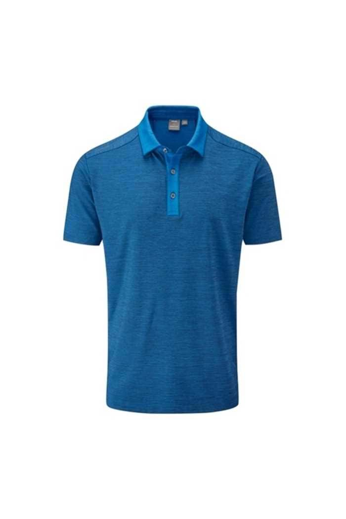 Picture of Ping Men's Chandler Polo Shirt - Deep Water Marl