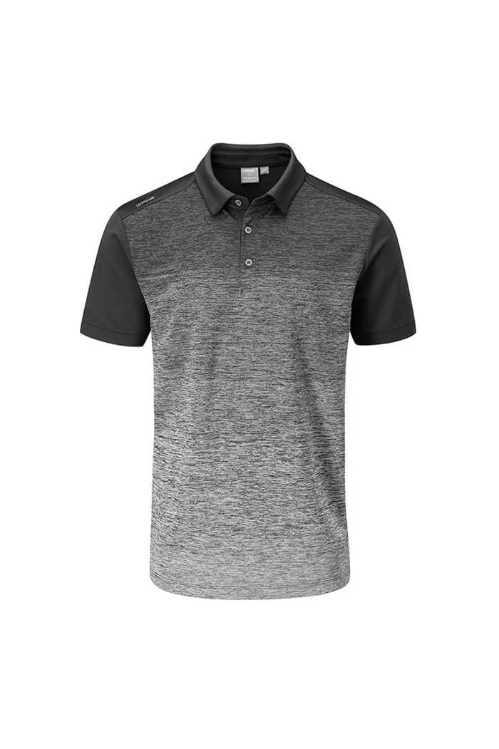 Picture of Ping zns  Men's Gradient Polo Shirt - Black Multi / Black