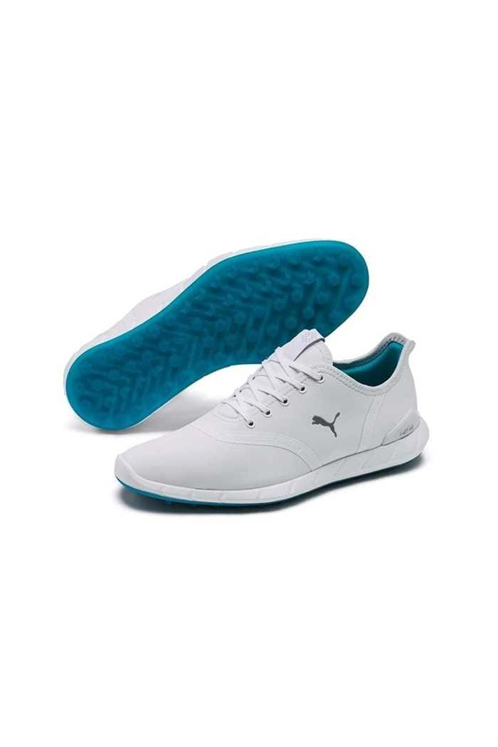 Picture of Puma Golf ZNS Womens Ignite Statement Low WP - White Quarry