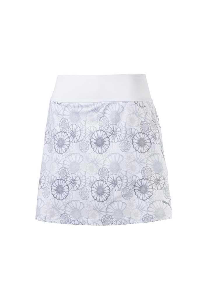 Picture of Puma Golf Women's PWRShape Blossom Skirt - Bright White / Quarry