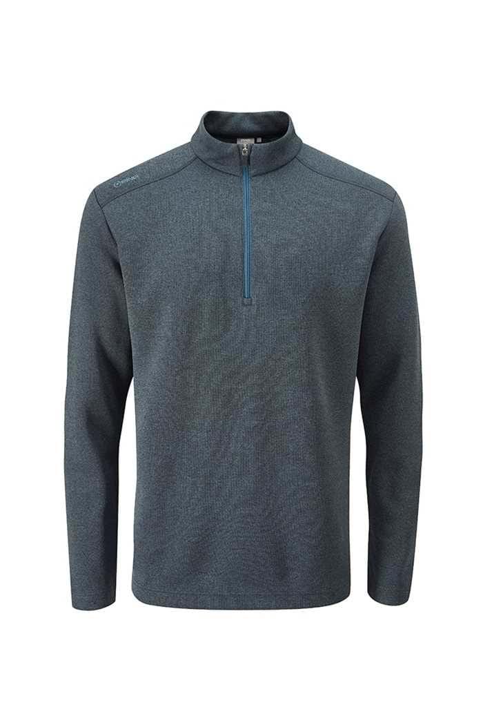 Picture of Ping Men's Ramsey 1/4 Zip Sweater - Ink Marl