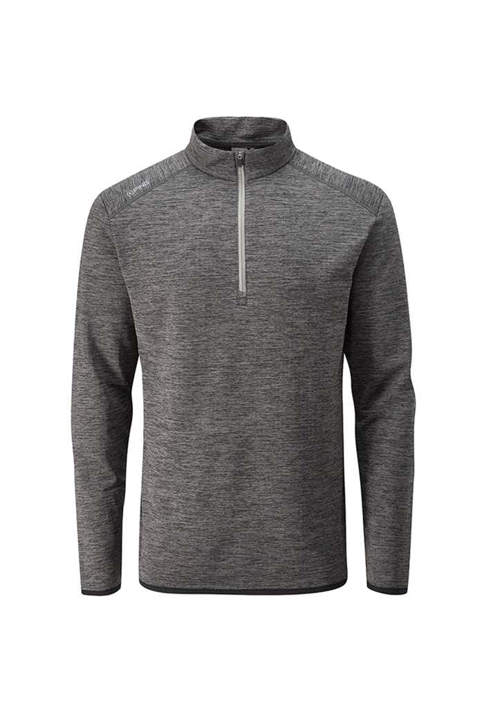 Picture of Ping Men's Elden 1/4 Zip Sweater - Asphalt Marl