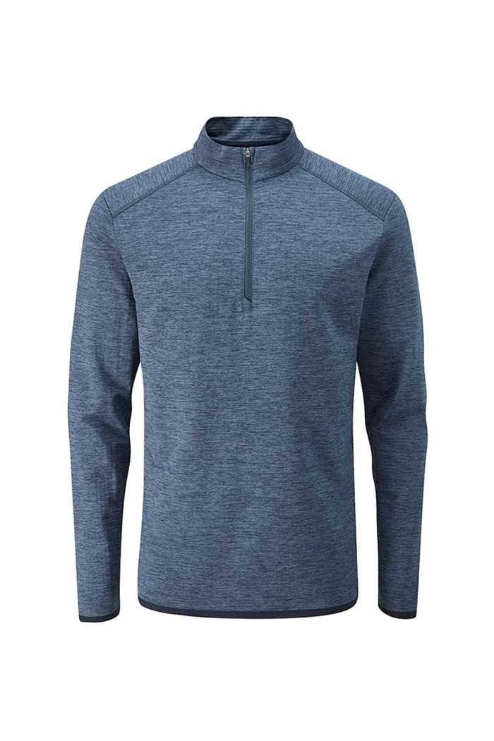 Picture of Ping Men's Elden 1/4 Zip Sweater - Ink Marl