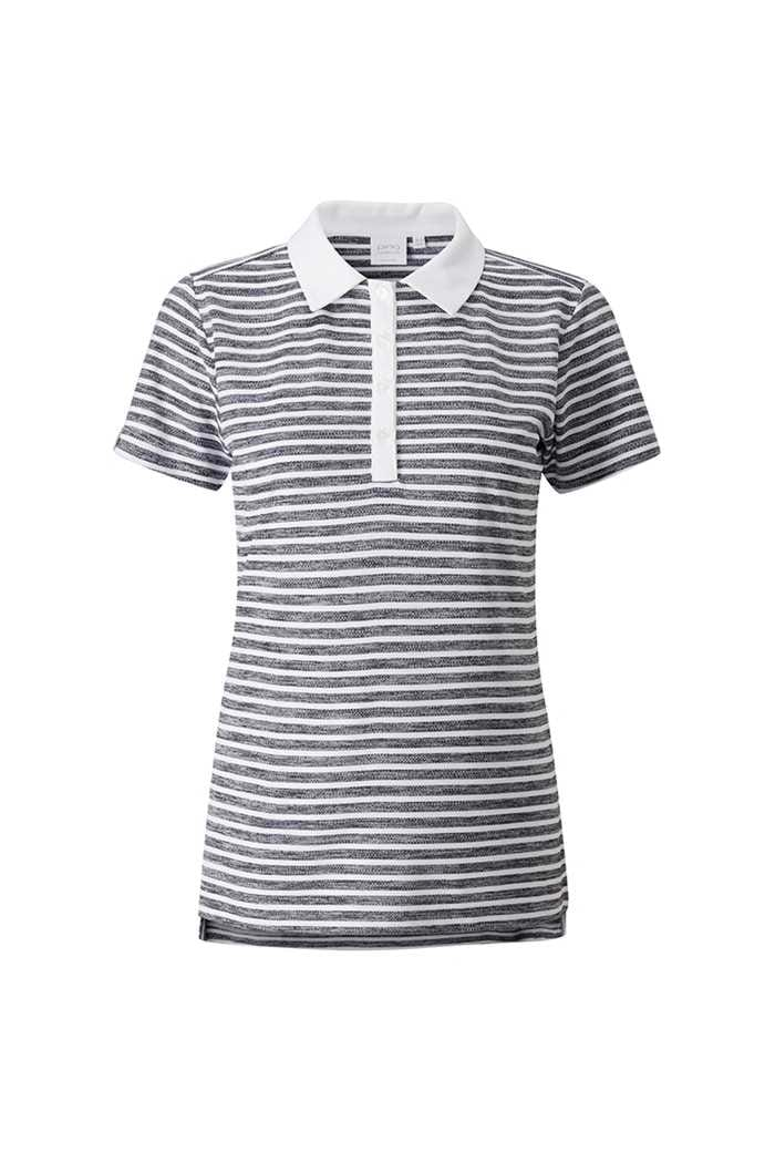 Picture of Ping Ladies Lacie Polo Shirt - White / Navy