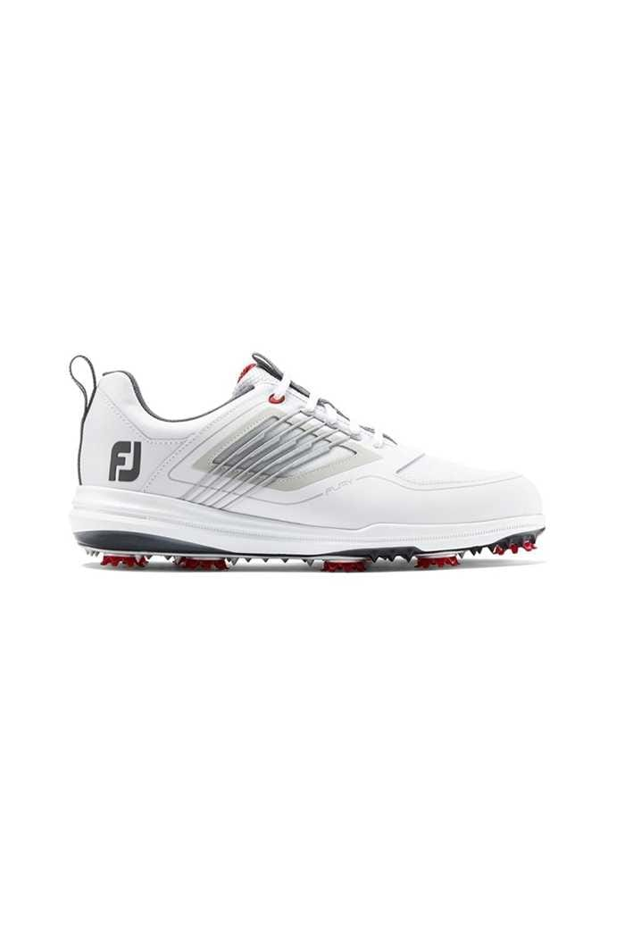 Picture of Footjoy Men's Fury zns Golf Shoes - White / Red
