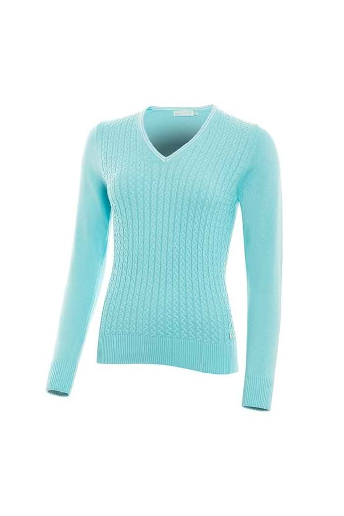Picture of Green Lamb ZNS Brid Cable Sweater - Capri