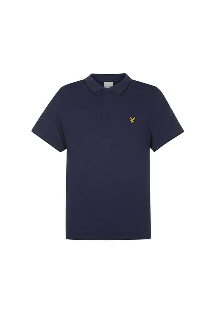 Picture of Lyle & Scott Golf Tipped Polo Shirt - Navy