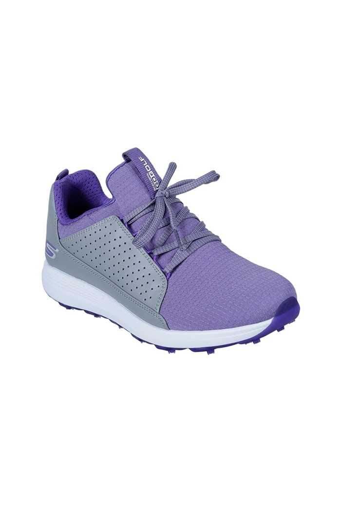 Picture of Skechers Ladies Go Golf Max Mojo Golf Shoes - Grey / Purple