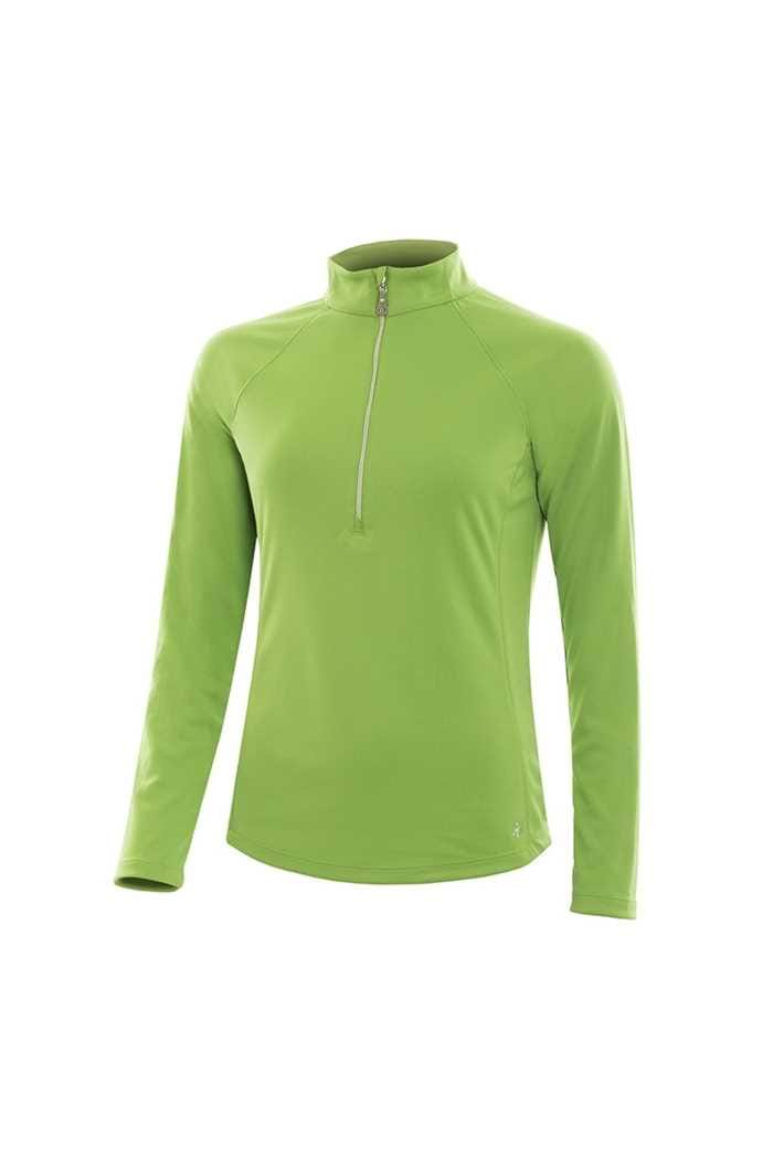 Picture of Green Lamb ZNS Lilian Tech Mid Layer - Greenery