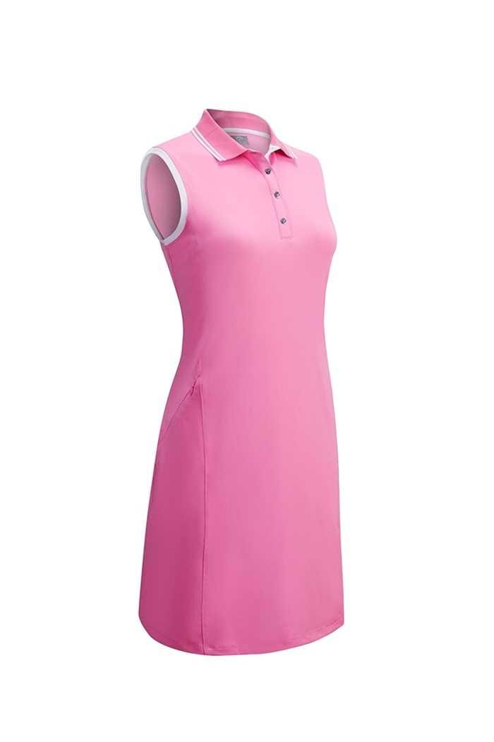Picture of Callaway ZNS Golf Ladies Golf Dress with Ribbed Tipping - Fuschia Pink