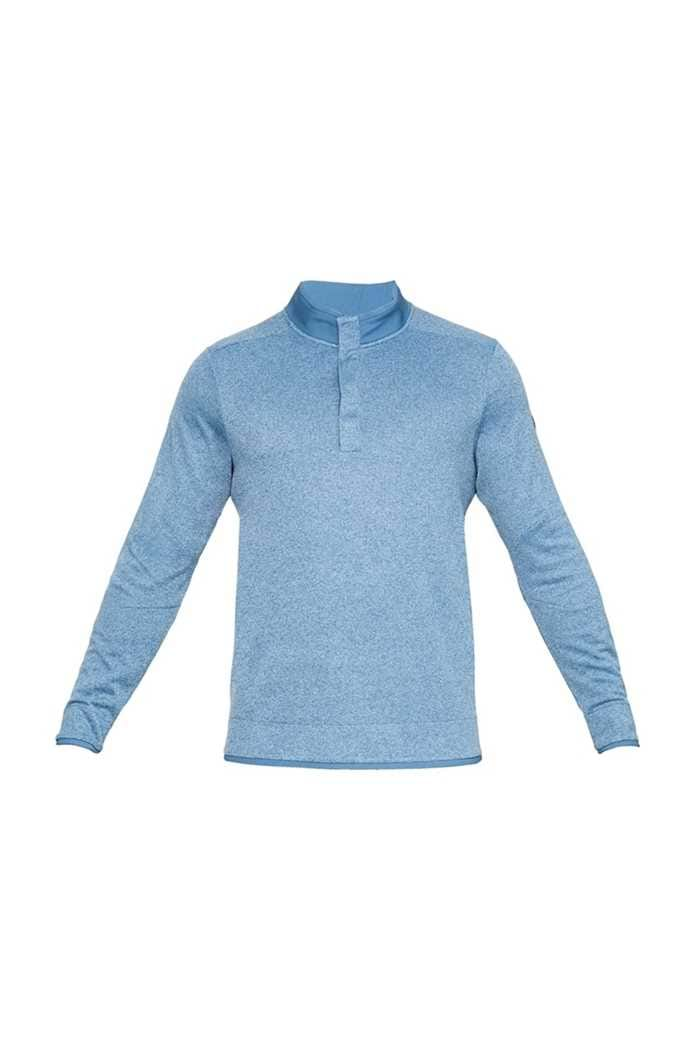 Picture of Under Armour UA Storm Sweater Fleece Snap Mock - Blue 407