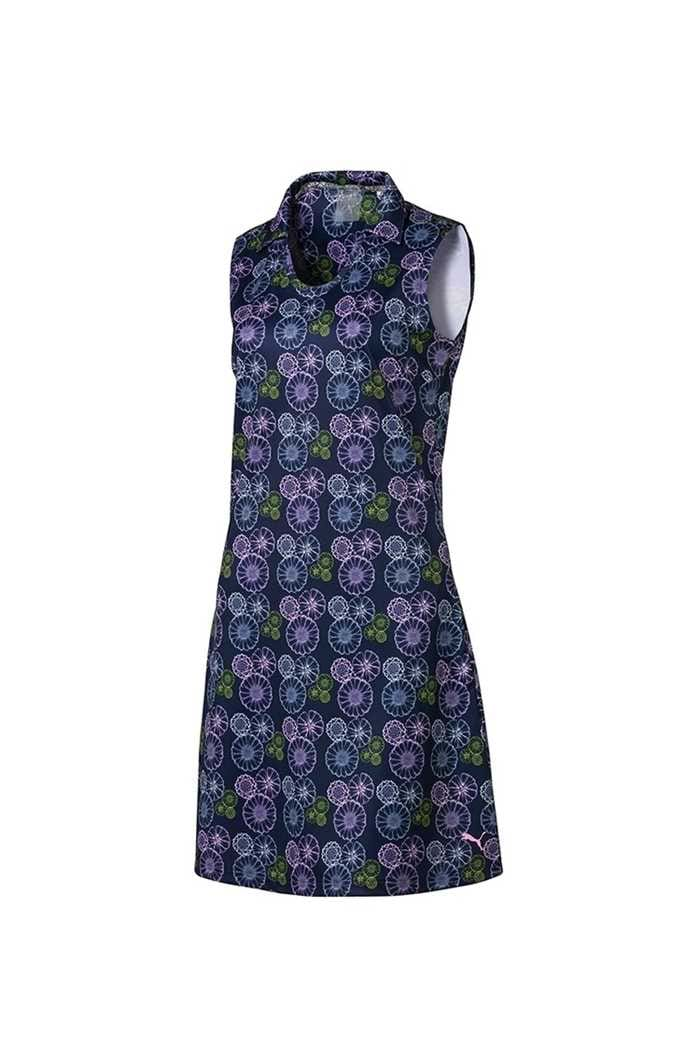 Picture of Puma Golf zns Women's Fair Days and Fairways Dress - Peacoat Floral