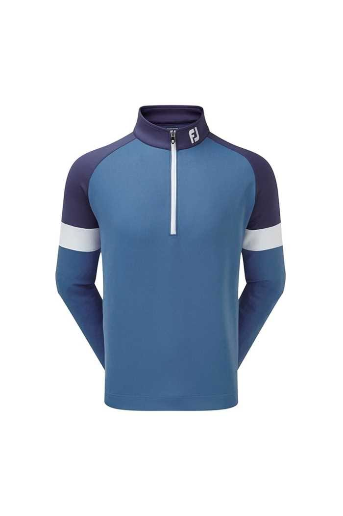 Picture of Footjoy zns  Jersey Knit Track Chill-Out - Blue Marlin / Twilight / White