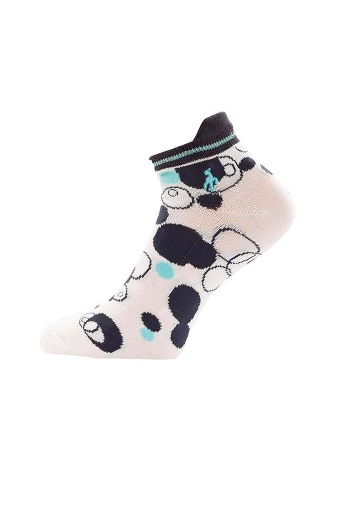 Picture of Green Lamb zns Patterned Socks - 3 Pack - Capri / Navy