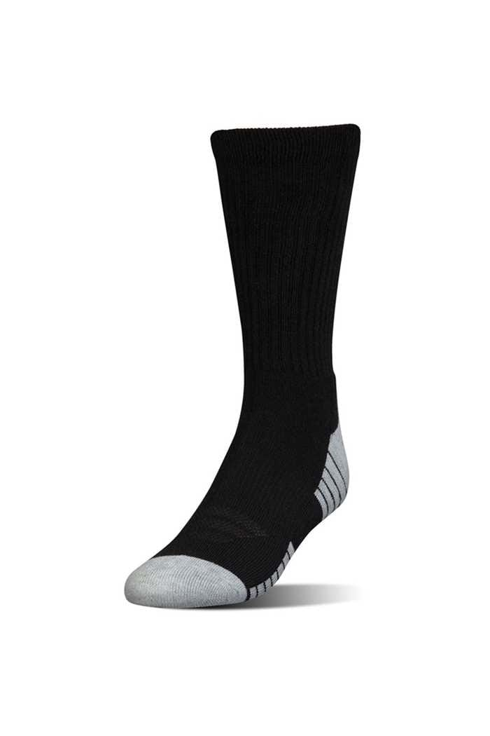 Picture of Under Armour  UA Heatgear Crew Socks - 3 Pack - Black