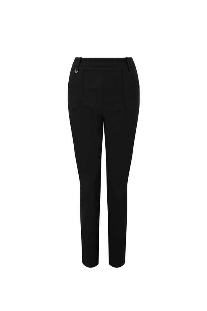Picture of Callaway Chev Pull on Trousers - Caviar