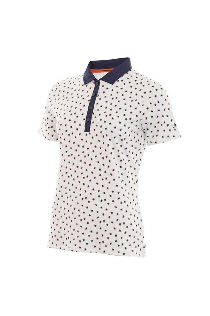 Picture of Calvin Klein Americana Polo Shirt - White / Navy