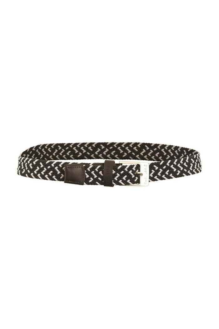 Picture of Green Lamb Desiree Belt - Black / White