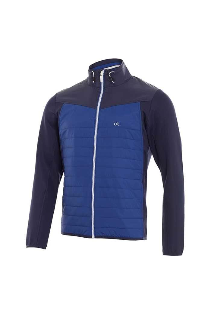 Picture of Calvin Klein  zns Cyclone Padded Jacket - Navy / Cobalt