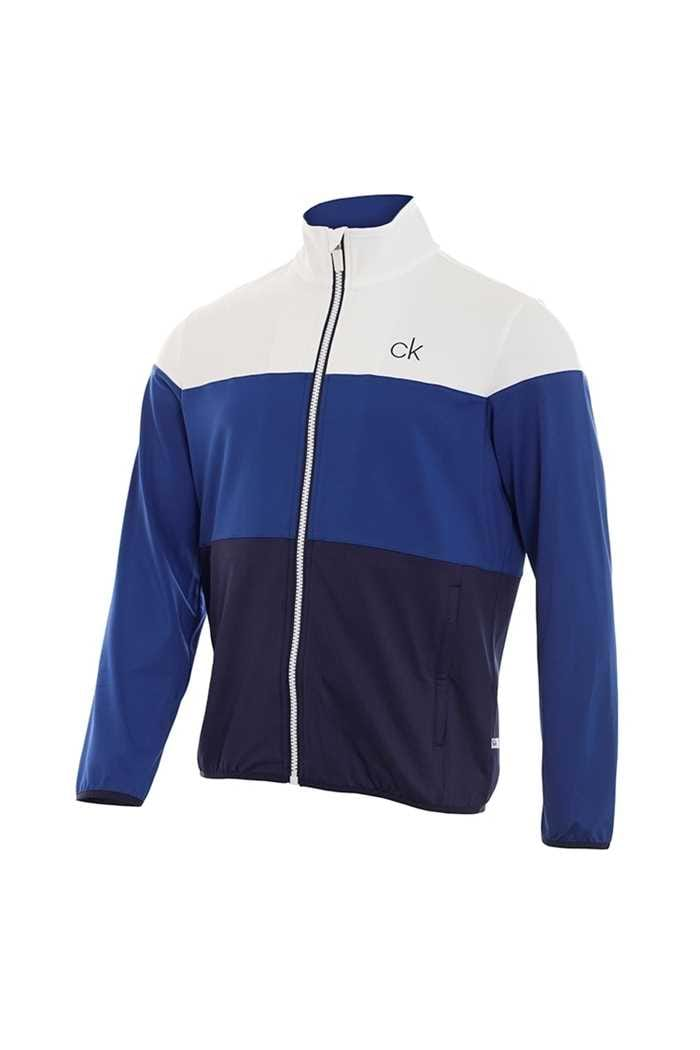 Picture of Calvin Klein zns Navitec Full Zip Top - White / Navy