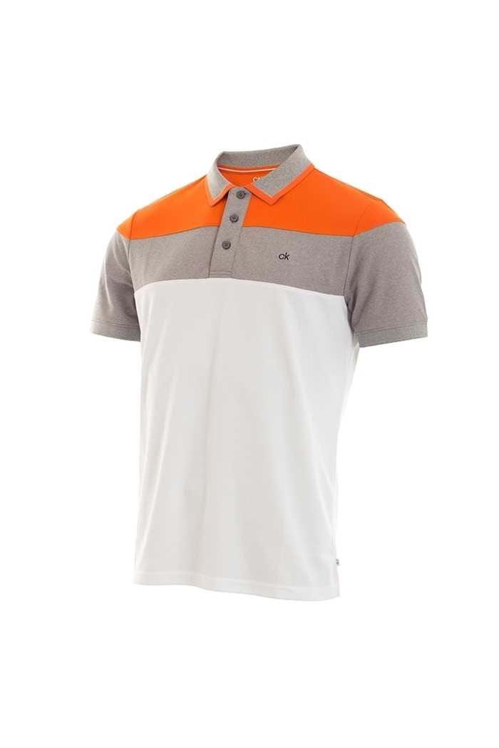 Picture of Calvin Klein ZNS Men's Arinox Polo Shirt - White