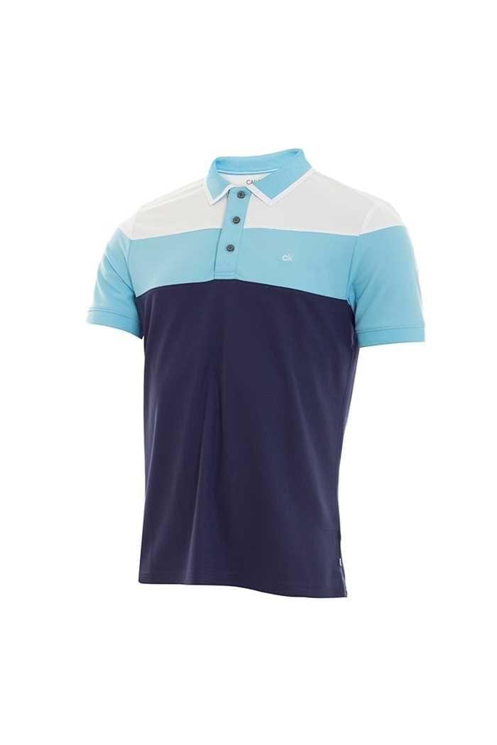 Picture of Calvin Klein zns Men's Arinox Polo Shirt - Navy