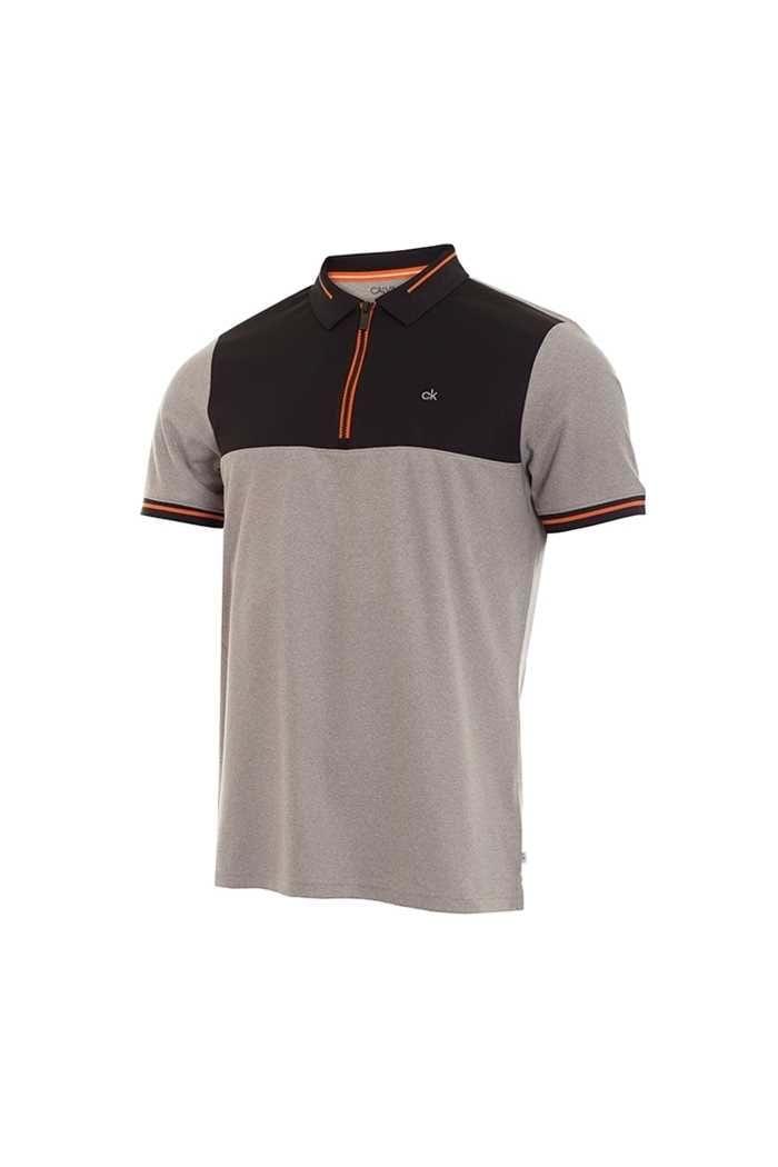 Picture of Calvin Klein ZNS Men's Airfoil Polo Shirt - Grey Marl
