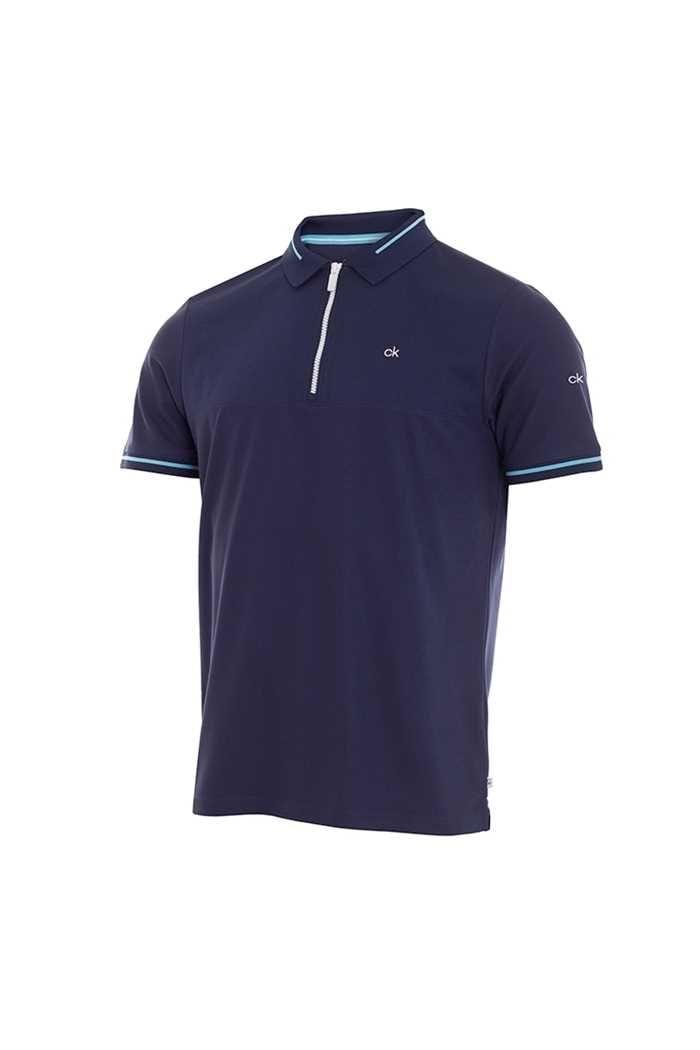 Picture of Calvin Klein zns Men's Airfoil Polo Shirt - Navy
