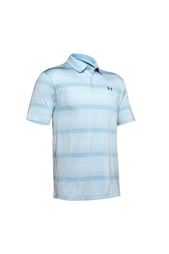 Picture of Under Armour UA Men's Playoff 2.0 Polo Shirt - Blue Stripe 452