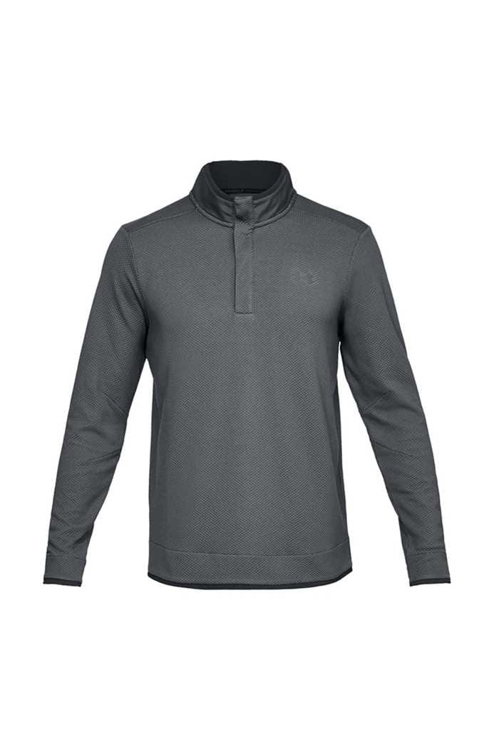Picture of Under Armour UA Storm Sweater Fleece Snap Mock - Grey 012