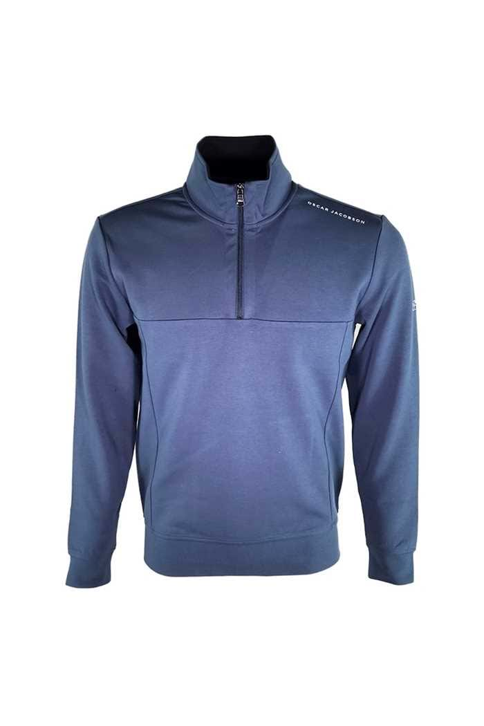 Picture of Oscar Jacobson zns  Hawkes Course Pullover - Blue 274