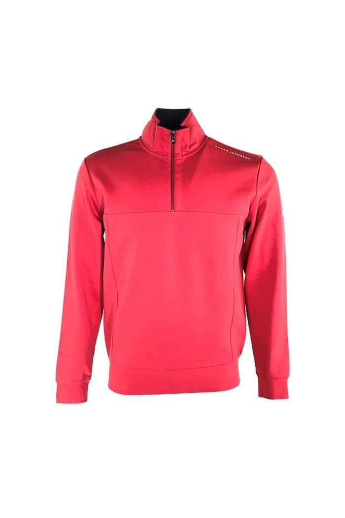 Picture of Oscar Jacobson Hawkes Course Pullover - Red 632