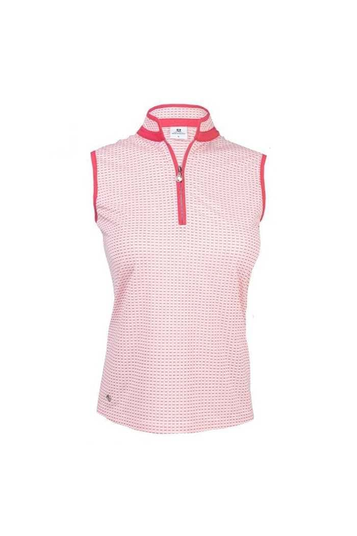 Picture of Daily Sports Talia Sleeveless Polo Shirt - Watermelon 861