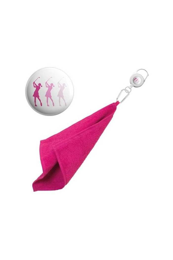 Picture of Surprizeshop zns Retractable Towel - Pink Lady Golfers