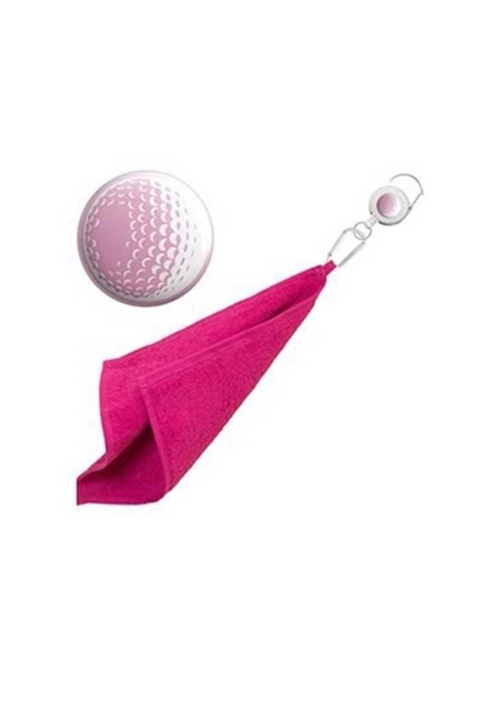 Picture of Surprizeshop zns Retractable Towel - Pink Golf Ball