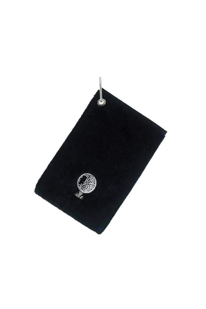 Picture of Surprizeshop Bag Towel with Carabiner - Black