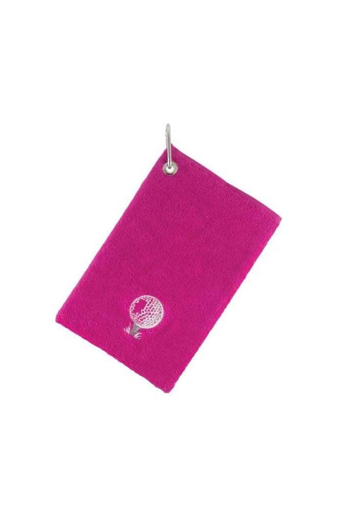 Picture of Surprizeshop Bag Towel with Carabiner - Pink