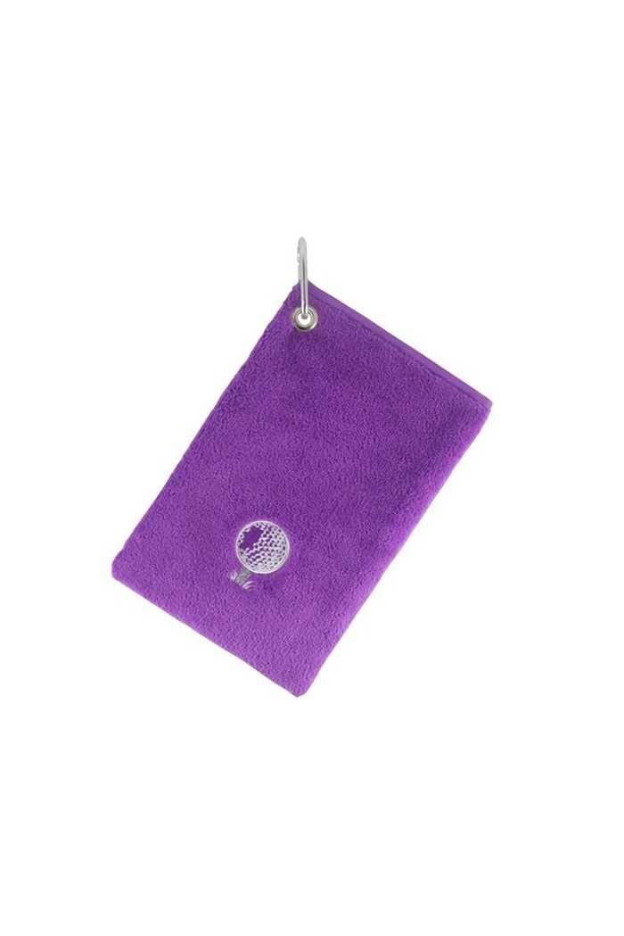 Picture of Surprizeshop Bag Towel with Carabiner - Purple