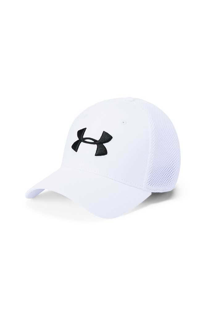 Picture of Under Armour UA Microthread Golf Mesh Cap - White