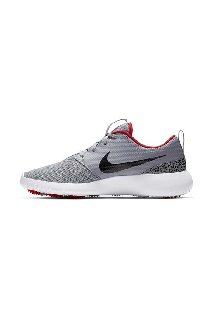 Nike Men S Roshe G Golf Shoes Cement Black White Nike Golf Eureka Golf