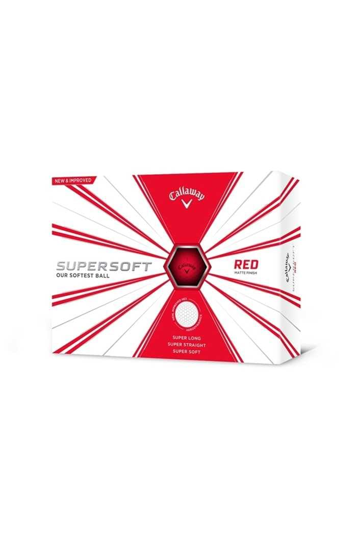 Picture of Callaway ZNS Supersoft Golf Balls - Red